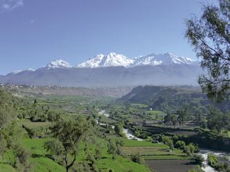 Aussicht von Arequipa