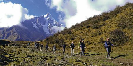 Mountain Lodges, Trekking von Wayra nach Colpa