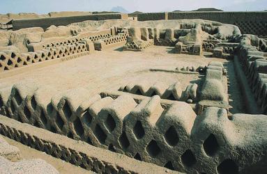 Die Ruinen von Chan-Chan
