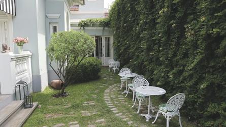 Garten der Villa Barranco