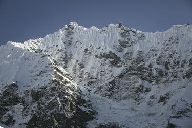 Berglandschaft auf dem Salkantay Trail