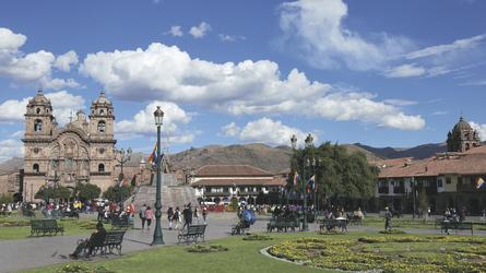 Hauptplatz von Cusco