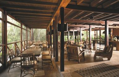 Restaurant- / Lounge-Bereich, ©Inkaterra