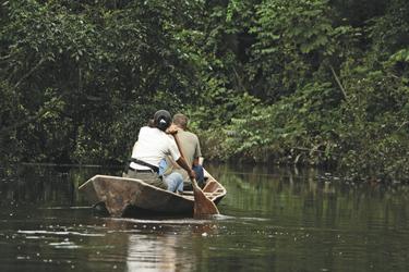 Ausflug mit dem Kajak, ©Inkaterra