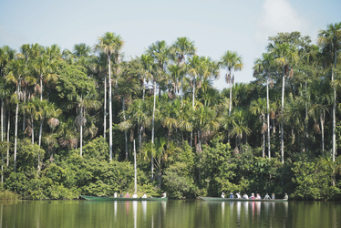 Ausflug am Lake Sandoval, ©Inkaterra