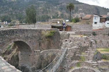 Inka-Seilbrücke in Checacupe