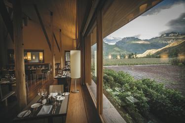 Blick aus dem Restaurant, ©explora