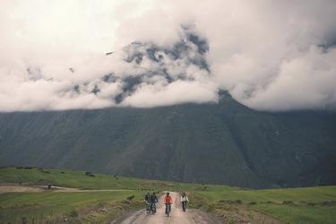 Mountain-Bike Ausflug im Heiligen Tal