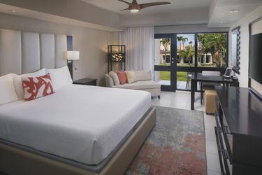 Standard-/Superiorzimmer (Beispiel), ©Bucuti & Tara Beach Resort