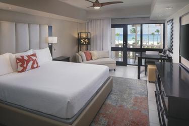 Deluxe-Zimmer (Beispiel), ©Bucuti & Tara Beach Resort