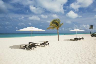 Hotelliegen am Eagle Beach, ©Bucuti & Tara Beach Resort