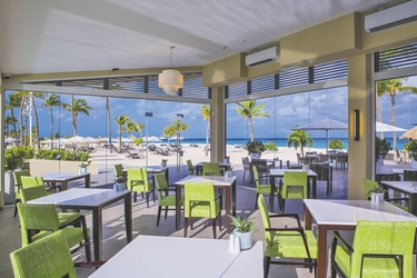 Elements-Restaurant am Strand