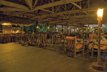 Restaurant in der Posada Amazonas