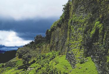Kuelap in der Region Chachapoyas