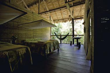 Zimmer in der Posada Amazonas
