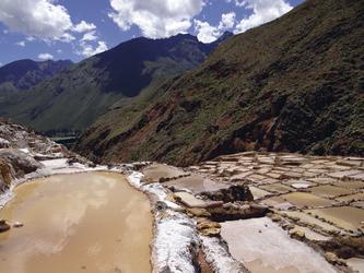 Salzfelder in Maras