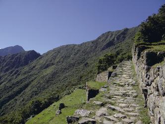 Inkapfad von Machu Picchu zum Sonnentor