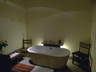 Badewanne in einer Patio Suite