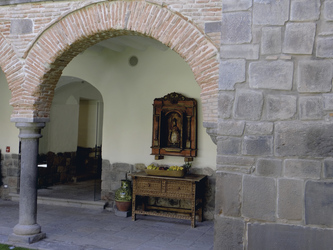 Innenhof im Hotel La Casona