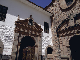 Eingang Sonnentempel (Koricancha)