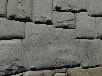Inkamauer mit 12-eckigem Stein in Cusco