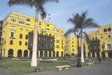 Plaza de Armas Lima, ©S.A.T.