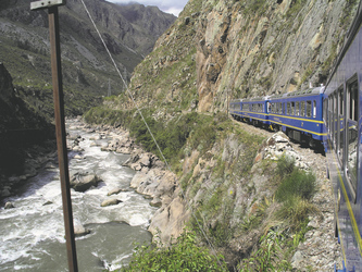 mit dem Zug nach Machu Picchu, ©S.A.T.