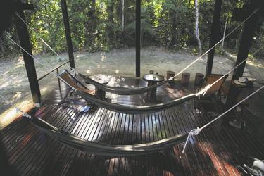 in der Posada Amazonas