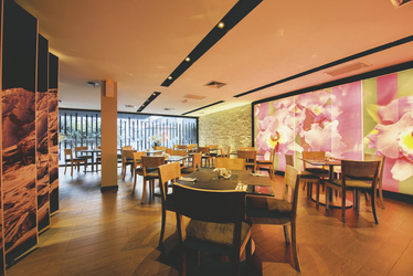 Restaurantbereich Hotel Arawi