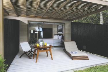 Terrasse Deluxe-Zimmer