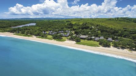 Natadola Strand mit Yatule Resort