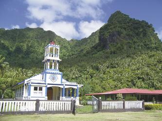 Kirche auf Upolu