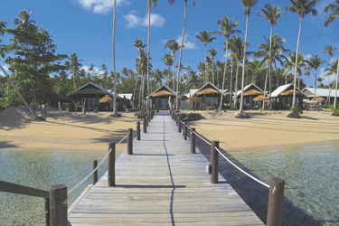 Strand im Saletoga Sands Resort