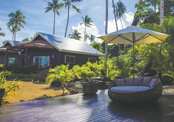 Erholung im Resort (c) A. Crouchley, ©Polynesian Xplorer