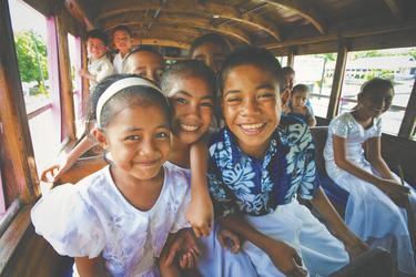 Sonntags in Samoa © Kirkland, ©KIRKLANDPHOTOS.COM