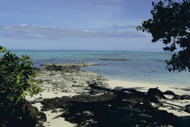 Strand in der Südsee