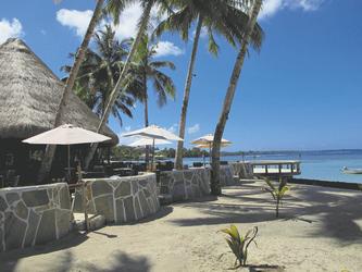 Strand und Restaurant