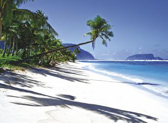 Strand von Lalomanu