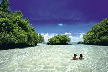 Traumstrand in Samoa