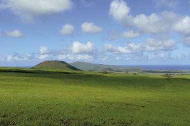 Blick vom Vulkan Terevaka