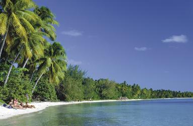Strandleben auf Fiji