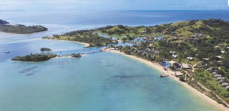 Luftbild Musket Cove