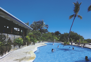 Pool im Volivoli Beach Resort