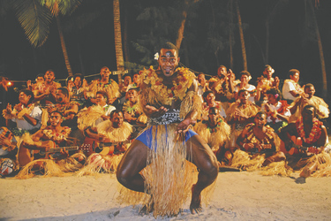 Fijianischer Tanz