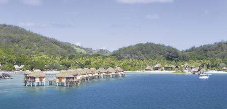 Blick auf das Likuliku Lagoon Resort