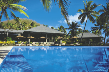 Pool , ©Yasawa Island Resort