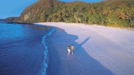 Strand im Yasawa Island Resort, © Yasawa Island Resort