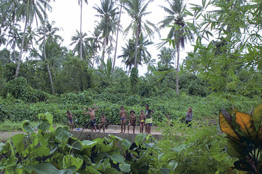 Kinder auf Taveuni