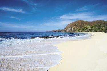 Am Strand, © Yasawa Island Resort