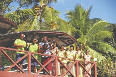 Herzlich Willkommen in Fiji